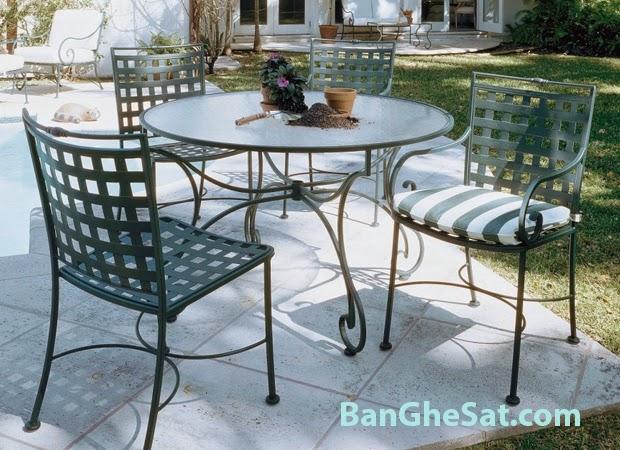 Bàn ghế sân vườn đẹp lý tưởng
