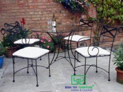 Bộ bàn ghế sắt sân vườn BGS-MT302