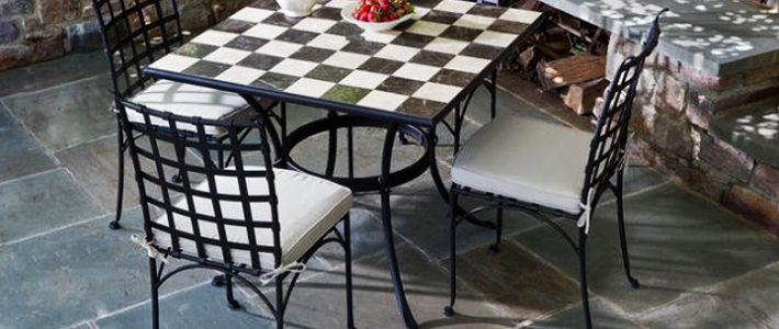 Bộ bàn ghế sắt sân vườn BGS-MT304