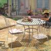 Bộ bàn ghế sắt sân vườn BGS-MT305