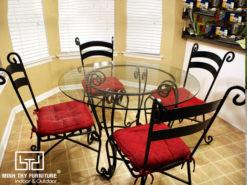 Bộ bàn ghế sắt sân vườn BGS-MT313