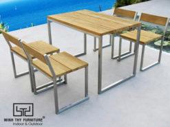 Bộ bàn ghế sắt sân vườn BGS-MT315