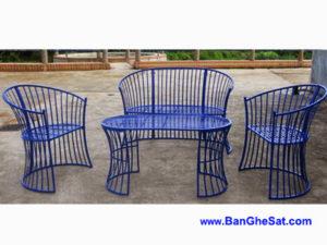Bộ bàn ghế sắt sân vườn BGS-MT326