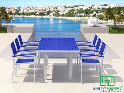 Bộ bàn ghế sắt sân vườn BGS-MT331