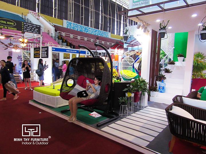 Minh Thy Furniture tham gia Hội chợ Vifa Home 2018