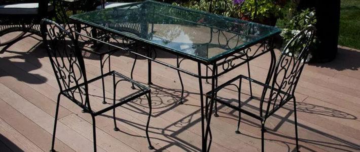 Những mẫu bàn ghế sắt cho không gian nhà bếp