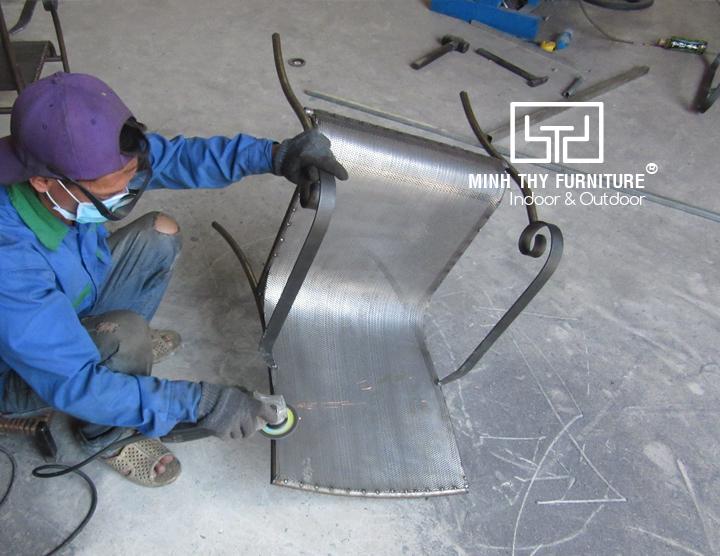 Bàn ghế sắt đẹp cao cấp mang thương hiệu Minh Thy Furniture